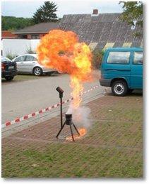 Fettbrandexplosion